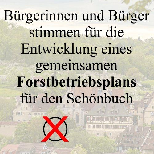 Bürgerbeteiligung im Schönbuch